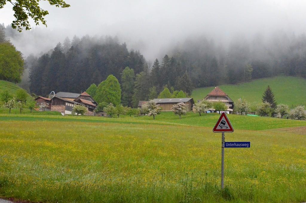 Weiler Unter Hus_ mit Strassenschild
