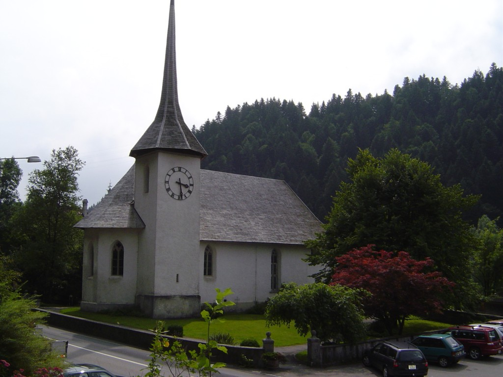 Die reformierte Kirche von Eggiwil